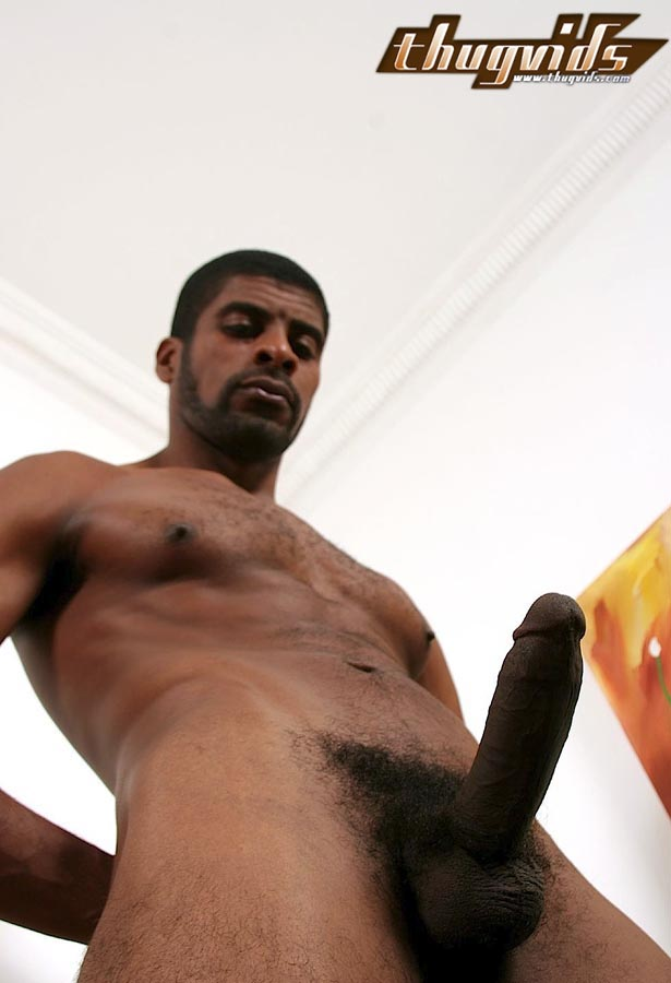 Big black cock hairy men